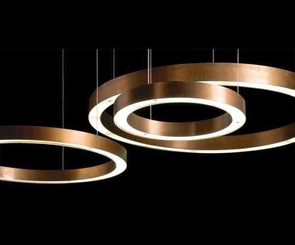 Light Ring Horizontal Suspension Modern Light Fixtures Led Pendant Lights Modern Led Lighting