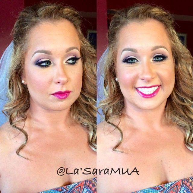My adorable #barbie bride. This girl made sure she locked me in a year in advance! Had so much fun working with her crew! Thanks for trusting me Jess!  #mac #iloveigmuas #ilovemakeup  #makeupbyme  #makeup #ilovemaciggirls #makeupartist #artist #motd #lotd #mua #beauty #makeupaddict #beatthatface  #makeuphoneys #makeupgeek #igmakeup #instamakeup #makeupdolls #beautyguru #makeupmobb #glam #smoky  #instaglam #makeuplover #bride