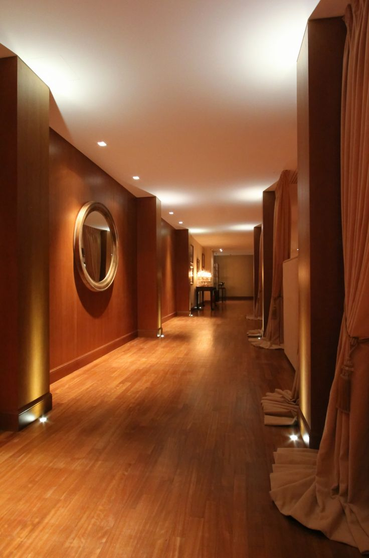 "5 star hotel ""du lac"" / Ioannina - Greece /  large corridor / interior designer Sissy Raptopoulou"