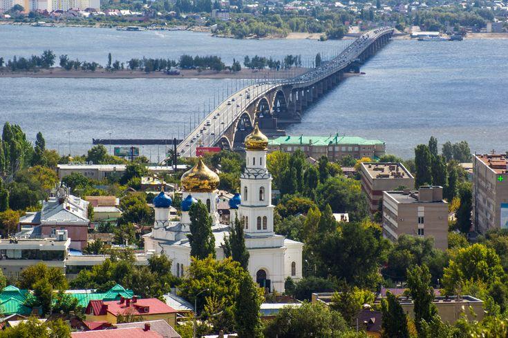 Мост через Волгу в Саратове фото 2016 в высоком разрешении - бесплатные…