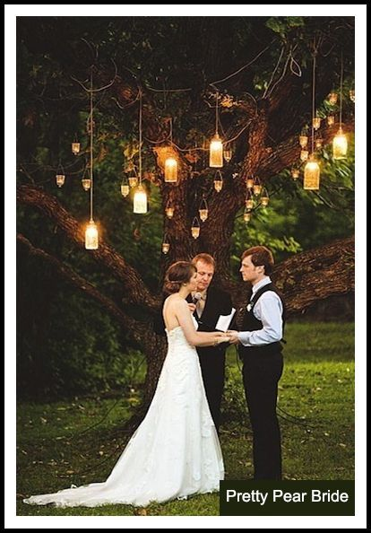 {Things I Love Thursday} Nighttime Garden Weddings