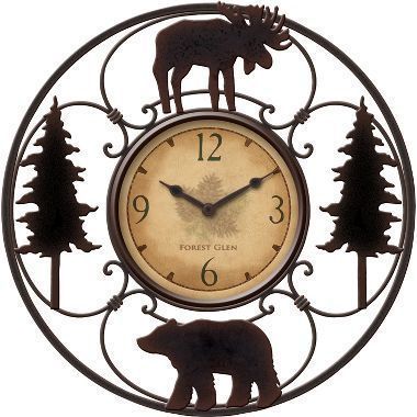 Wildlife Wire Clock at Cabela's