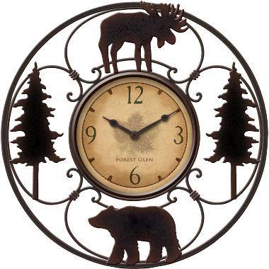 Wildlife Wire Clock at Cabela's