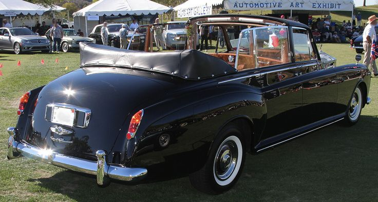 Chassis 5AT72 (1960) re-bodied Landaulette by Park Ward (body V163, design 980)