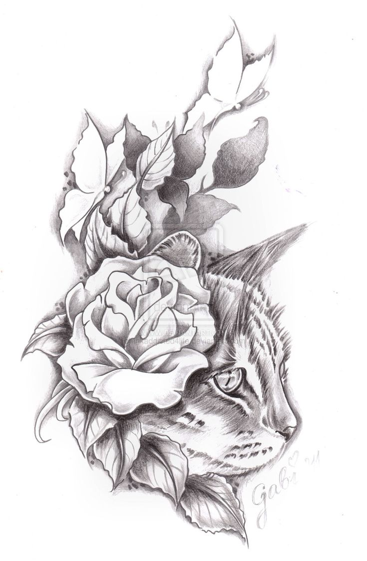 Tigger tattoo designs - Hiding Cat Tattoo Commision By Inkaddicted4life Deviantart Com On Deviantart