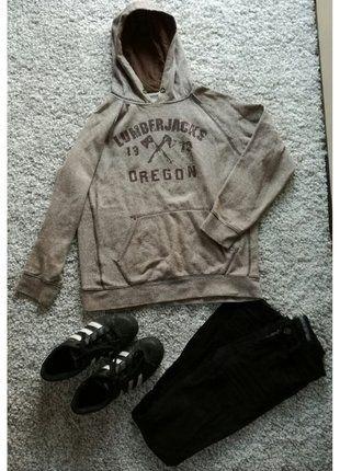 Kup mój przedmiot na #vintedpl http://www.vinted.pl/damska-odziez/bluzy/16119765-bluza-brazowa-z-kapturem