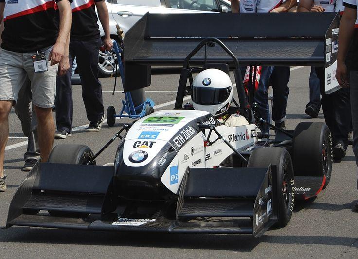 Car all ready at Formula Student