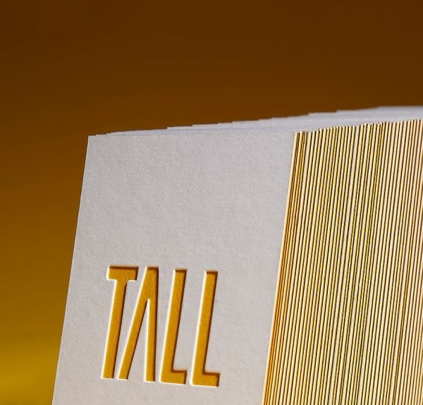 Tall Business Cards - Business Cards - Creattica