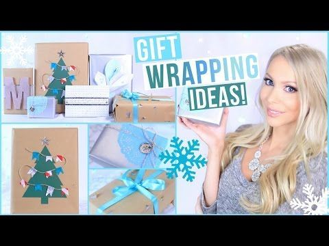 Creative DIY Gift Wrapping Ideas! - YouTube