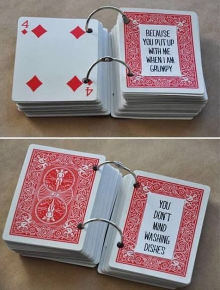 45+ trendy Ideas for gifts for boyfriend birthday deck of cards