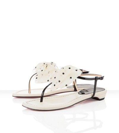 louboutin flat sandals price