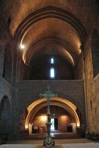 La cathédrale Saint-Pierre-et-Saint-Paul de Maguelone. Languedoc-Roussillon