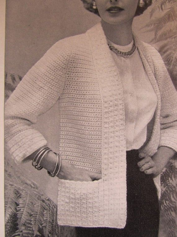 Crochet Sweater Pattern  - make it longer