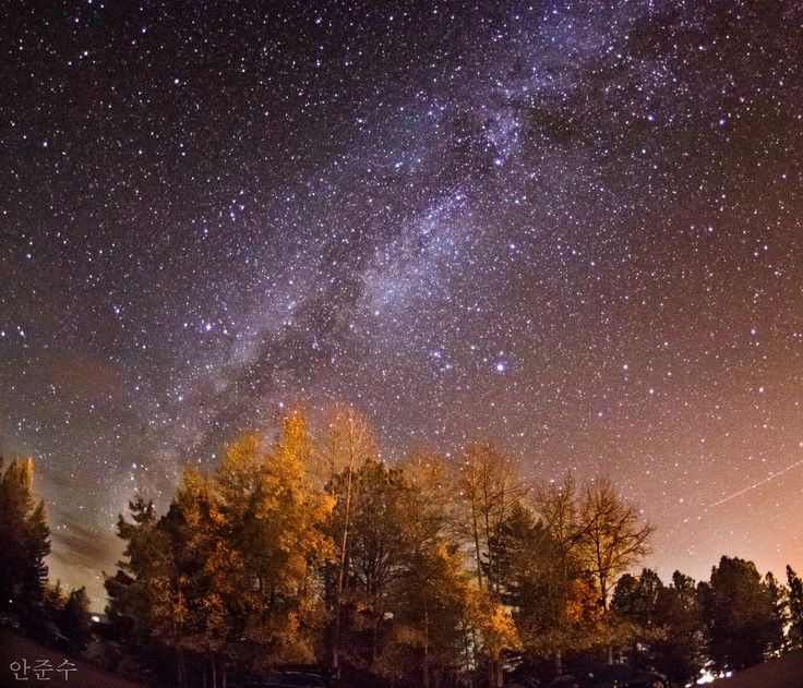The Milky Way over Angel Fire, NM