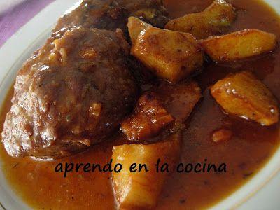 aprendo en la cocina: CARRILLERAS EN SALSA DE VINO TINTO