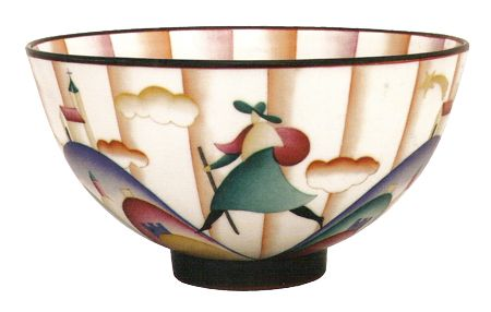 Pilgrim at Montesanto, bowl, © Gio Ponti.
