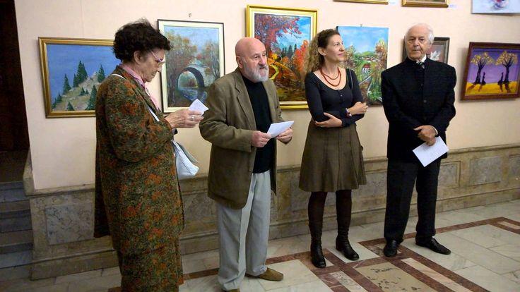 Salonul de toamna organizat de cenaclul Tuculescu la Cercul Militar Nati...