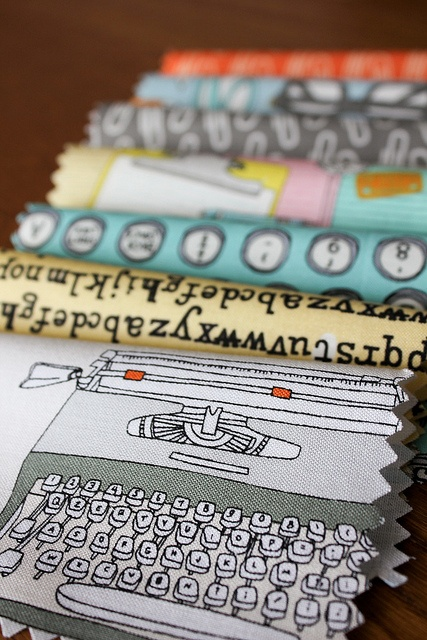 Type! by Julia Rothman for Windham Fabrics