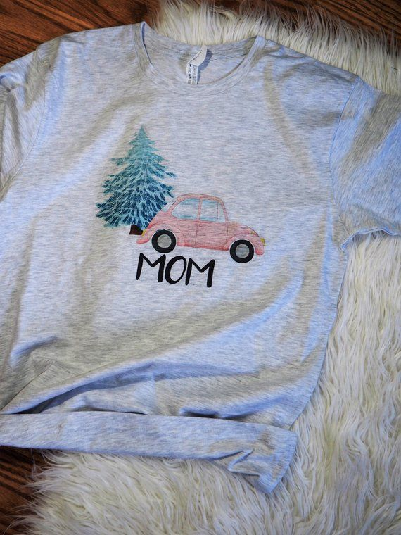 6b170de4 Matching Family Christmas Pajama Shirts, Christmas Shirt, Matching Family  Tshirts, Mom Dad Kid Baby T-shirts, Pin Navy Blue Slug Bug Car