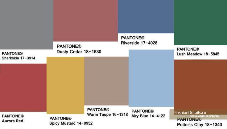 TREND COLOR / FALL 2016