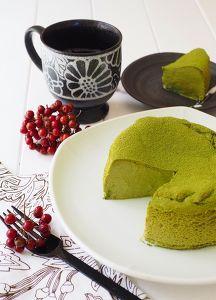 瞬溶け!生スフレ抹茶チーズケーキ