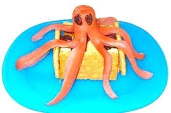 Creative food: Octodog