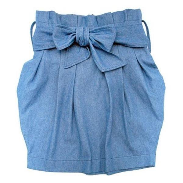 Как можно перешить джинсы в юбку