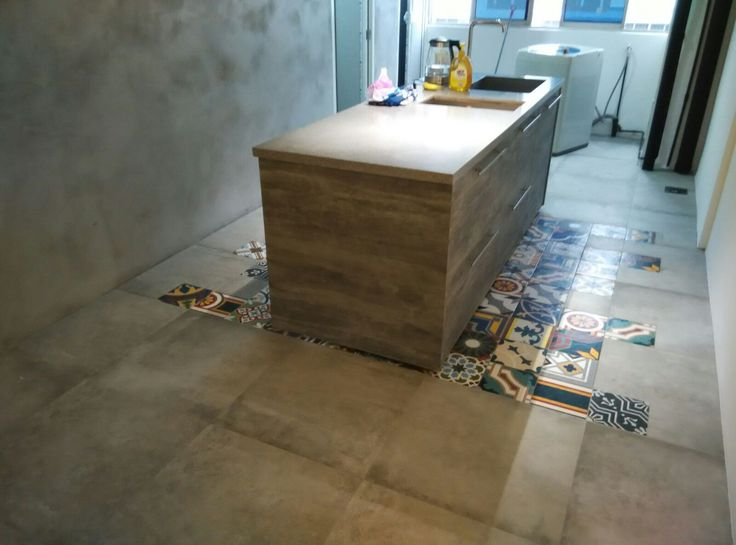 Retiling with ceramic accent tiles - Block 263 Waterloo street 3-bedroom apartment