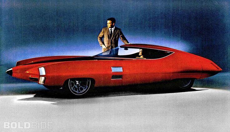 Une voiture de rève qui fait référence à des chaussures à talons haut. C'est fait pour moi! La GM x Stiletto est un concept car de 1964 qui s'inspire très largement de l'aeronautique & de la course à l'espace. Peut-on, etre nostalgique d'une époque que...