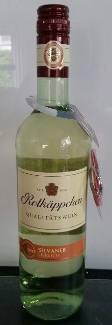 SPEISENundREISENtest: 06.06.16 Rotkäppchen Weißwein Silvaner lieblich