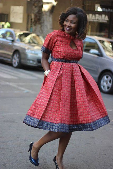 Smart Short Ankara Style Gown for Ladies http://www.dezangozone.com/2016/08/smart-short-ankara-style-gown-for-ladies.html