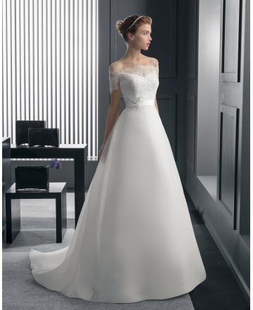 Spetslook Klassisk & Tidlös Dragkedja Bröllopsklänningar 2015