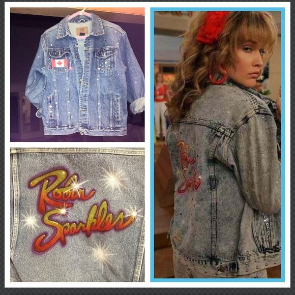 Denim - Custom made Robin Sparkles denim jacket