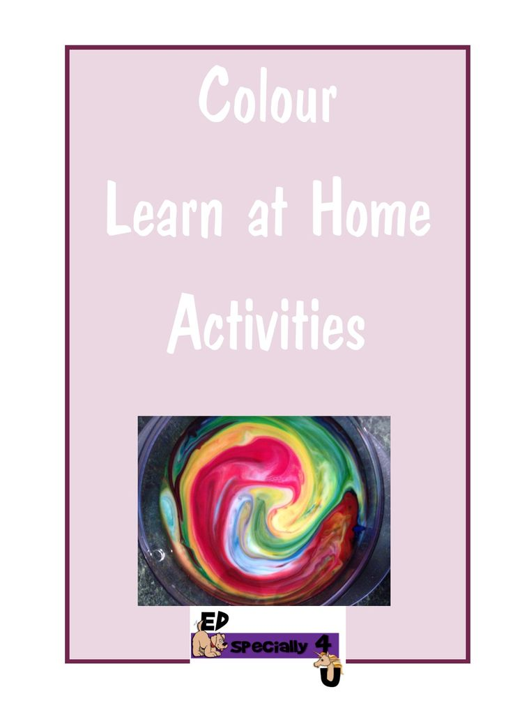 Read all about our Colour Learn at Home Activities ideas on our blog http://edspecially4u.blogspot.com.au/2015/02/v-behaviorurldefaultvmlo.html