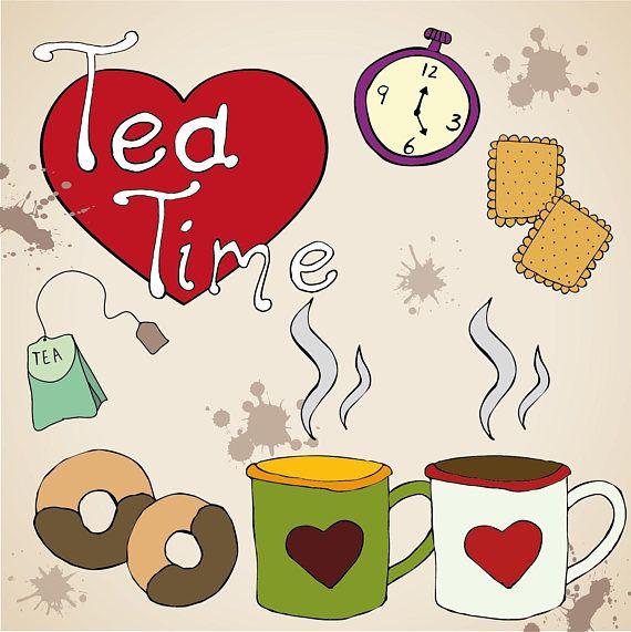 tea time biscotti schizzi cuore... prenditi il tuo tempo