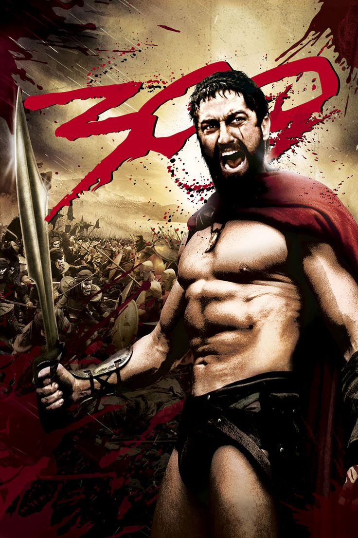 300, ultimate work out motivator. Can not watch this movie without doing crunches or planks.