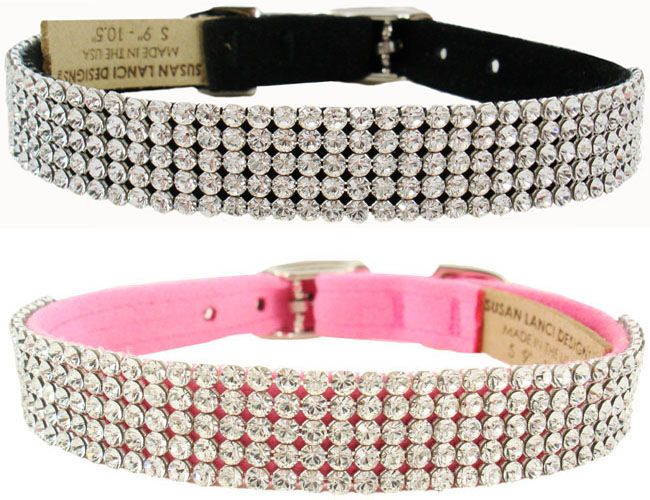 Bling Puppy Collar- Crystal Doggie Collars, Fancy Pet Collar, Crystal Puppy Collar, Swarovski, Puppy Boutique