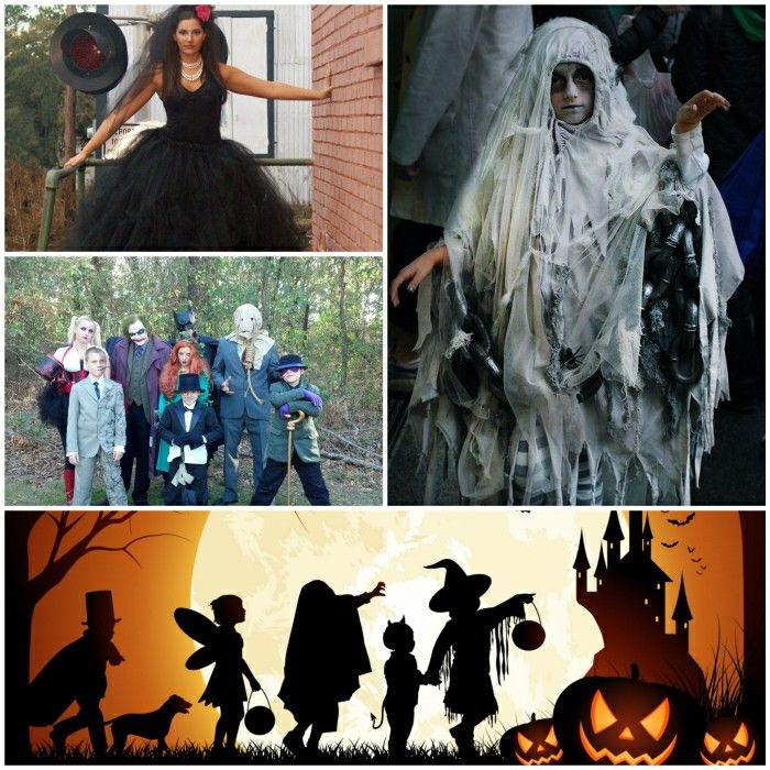 Halloween costumes and story