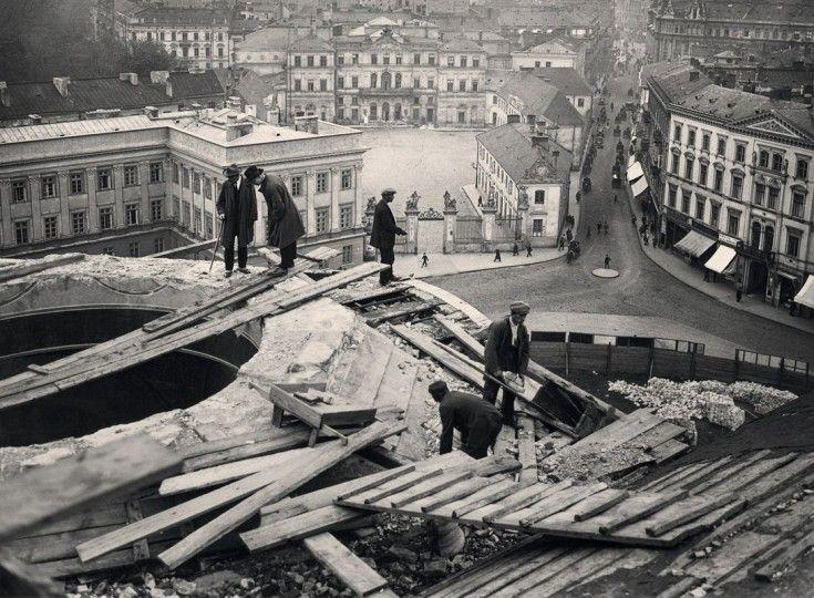 Galeria: Stolica z 'rozluźnionym gorsetem'. Niesamowite zdjęcia Warszawy lat 20. [GALERIA] (11/14) - Warszawa - WawaLove