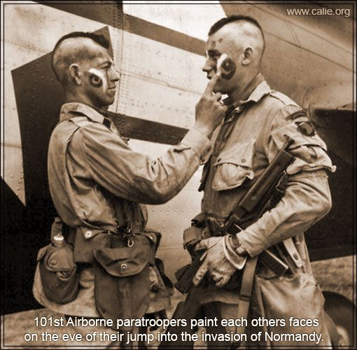 D Day Prep 101st Airborne Native Living Pinterest D