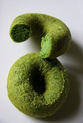 COOKING WITH JAPANESE GREEN TEA: Matcha Okara Donut