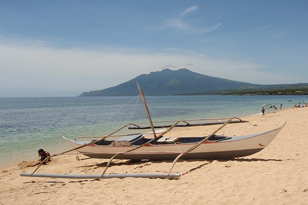 Beach in Torrijos, Marinduque