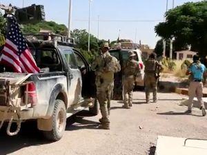 ABD Ordusu Tel Abyad'a geldi
