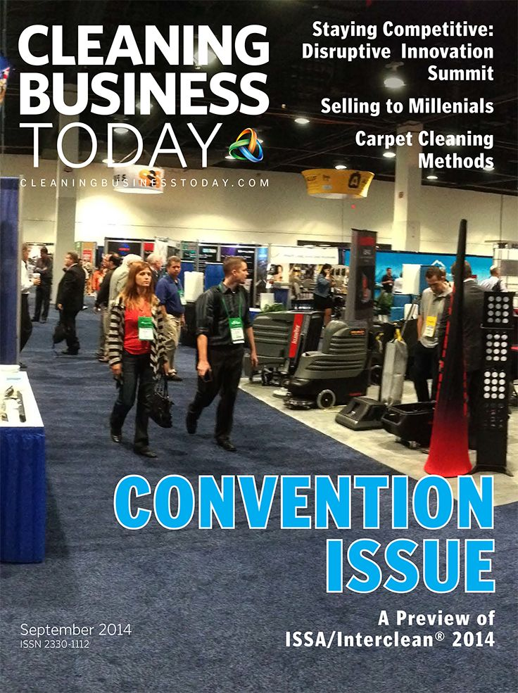 The September issue of Cleaning Business Today previews the ISSA/Interclean® 2014 convention and trade show in Orlando, FL.
