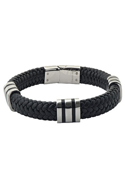 A.R.Z Steel Bracelet Black SS843 | EVOSY The Premier Destination for Watches and Accessories