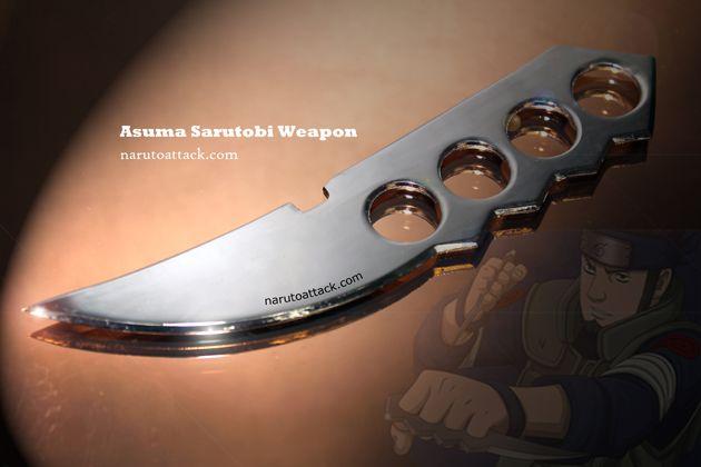 7quot asuma sarutobi weapon wea007 knife designs ima