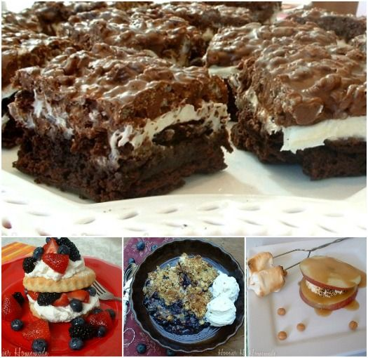 Labor Day Food and Desserts