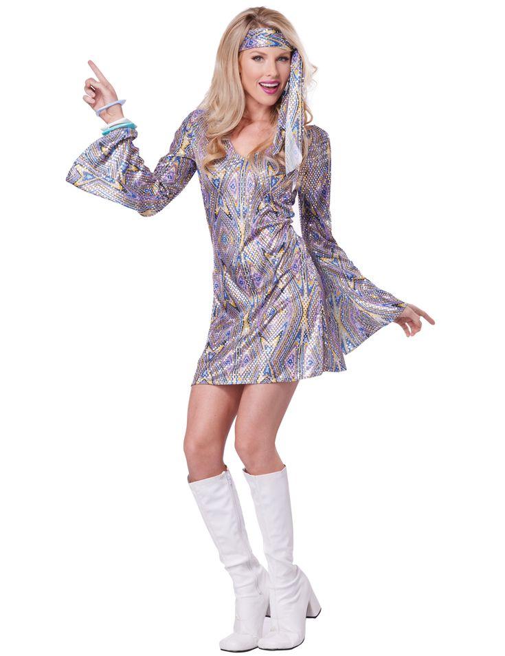 De meest originele carnavalskleding voor vrouwen kunt u vinden bij Vegaoo! Bestel snel dit leuke en sexy disco kostuum voor dames