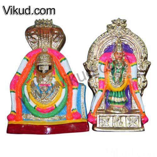 Navarathri Golu Doll-Sri Annamalaiyar Sri Unnamalaiamman-Paper Mache