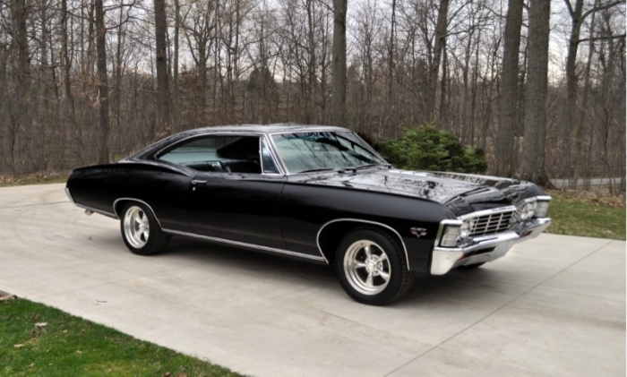 This is my 15 year old daughters dream car.A 1967 Chevy Impala SS 427.